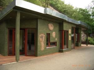 Galerie u geostezky v pražské Zoo