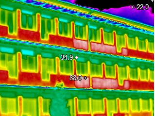 Pasivní byty PŘED zateplením - detail 2