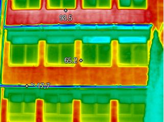 Pasivní byty PŘED zateplením - detail 1