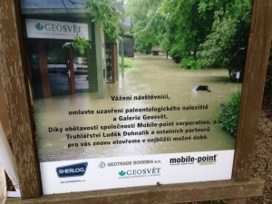 Sanace dřevostavby zaplavené povodněmi v pražské Zoo