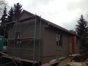 Stavba RD se zděným suterénem - Jinonice