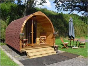 Nově nabízíme: Rekreační chatky s kopulovitým designem